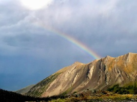 Where Colorado Leprechauns hide their gold. Silver Cliff, Colorado